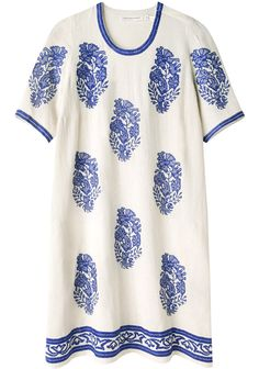 Étoile Isabel Marant / Daryl Embroidered Dress gold belt and accents