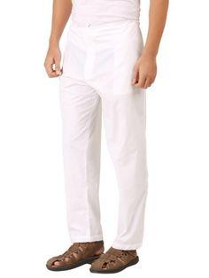 Mens Cotton Pyjamas & Kurtas Online Shopping in India. Buy pajamas for men online in India with affordable prices. Mens Cotton Pajamas, Long Kurtas, Men Online, White Cotton, Pajama Set, Pants, Stuff To Buy, Shirts, Fashion