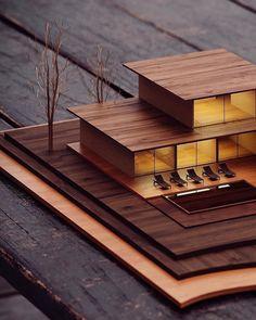 Impressive Architecture Model For You – Design and Decor Maquette Architecture, Architecture Design, Architecture Model Making, Architecture Magazines, Concept Architecture, Futuristic Architecture, Architecture Sketches, Architecture Diagrams, Landscape Model