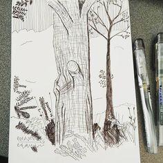 Pen sketch #sketchdrawing #sketching #drawing #illustration #preppyfountainpen