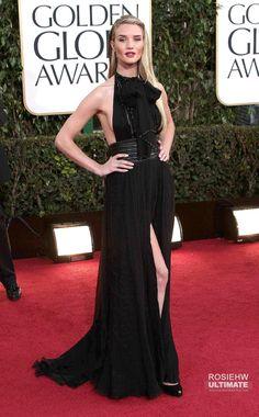 Fansite about Model Rosie Huntington Whiteley Golden Globe Award, Golden Globes, Rosie Huntington Whiteley, Public, Formal Dresses, Model, Style, Fashion, Moda