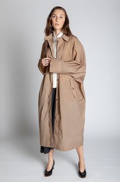 Obakki Kuchera Coat - Miso on Garmentory Handmade Home Decor, Sale Items, Coats For Women, Duster Coat, Product Description, Fabric, Jackets, Shopping, Shell