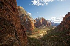 zion national park................