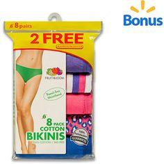 8c44d1a81ee91879caf3316d43b56da1 fruit of the loom bikinis hanes women's cotton bikini underwear 6 pack intimates,Womens Underwear Walmart