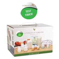 shop.foreverliving.it TEST TOUCH Art. 5 CC 1.00 Test Touch, una selezione di prodotti per l'igiene personale e la bellezza della pelle per testare l'efficacia dell'Aloe Vera. Ideale per tutta la famiglia, provalo anche tu! Contenuto: 14 prodotti + accessori    EUR 280,35