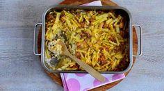 Savutofu-perunakiusaus - Ruokalan reseptit - Ilta-Sanomat Dessert Recipes, Desserts, Tofu, Macaroni And Cheese, Vegan Recipes, Meat, Chicken, Ethnic Recipes, Tailgate Desserts