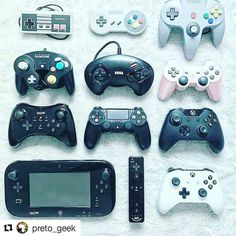 #Repost @preto_geek with @repostapp ・・・ The evaluation of gaming =D  Photo by @petsson Edit: preto geek #nintendo #nintendoswitch #joystick #WiiU #3ds #gamecube #megadrive #segagenesis #xbox #playstation #xboxone  #game #gaming #games #gameboy #NES #SNES #nintendinho #supernintendo #nintendo64 #pretogeek http://unirazzi.com/ipost/1493909887091757224/?code=BS7byCSjFCo