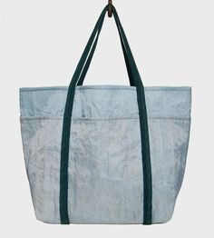 Recycled Beer Filter Cloth Beach Bag, Sea Colors by Rewilder on Scoutmob Shoppe
