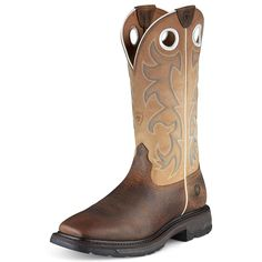 Ariat Mens Workhog Tall Western Work -- Don't get left behind, see this great boots : Boots for men