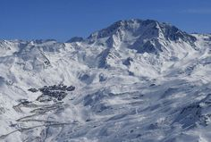 Val Thorens, my first Alps skiing experience AND 4 Star Dining experience....love it!