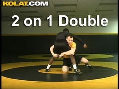 2 on 1 Double KOLAT.COM Wrestling Techniques Moves Instruction