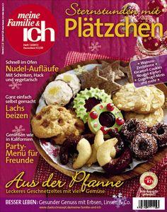 meine Familie & ich: 12/2013  Die schönsten Weihnachtsplätzchen / Party-Menüs / Geschnetzeltes  burdafood.net/Oliver Brachat  http://www.burda-foodshop.de/Einzelhefte/Einzel-meine-Familie-ich/