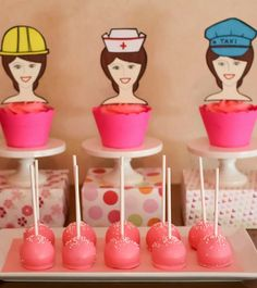 Moms wear so many hats from a  Mother's Day Party!  See more party ideas at CatchMyParty.com!