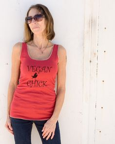 Hey, I found this really awesome Etsy listing at https://www.etsy.com/listing/189189863/vegan-chick-100-certified-organic-cotton