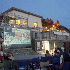 """Una splendida serata qui ai Bagni Paolieri con """"Corti di Sabbia"""" #hatsummer  #Livorno #Toscana #Tuscany #Italy #Italia #instaitalian #instaitalia #moda #fashion #womenfashion #sea #seaside #mare #cinema #cortometraggio #cortometraggi #estate #hat"""