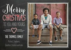 sweetful christmas photo cards via TinyPrints
