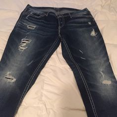 Silver Jeans worn once | Silver Jeans, Jeans and Boots