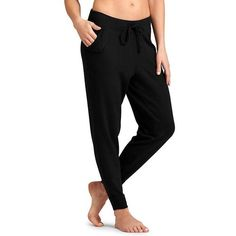 Athleta Women Techie Sweat Ankle Pant Size L ($79) ❤ liked on Polyvore