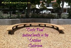 Outdoor Classroom: A Great Selling Point to Introduce Your School! | Magical Movement Company: Carolyn's blog