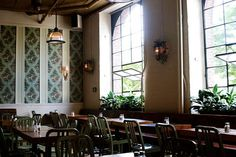 Roebling Tea Room. Tea + food in a gorgeous renovated loft. Get the salted cod cakes with jam.