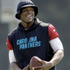 The Carolina Panthers officially began their voluntary offseason workout program today!