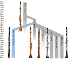 This site explains the history of clarinet, it says its from Germany and is about over 35,000 years old.