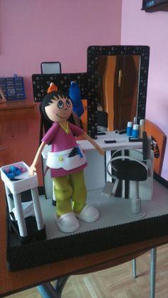 Fofucha peluquera