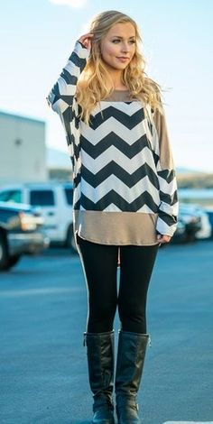 Chevron Holiday Tunic! : Jane Deals