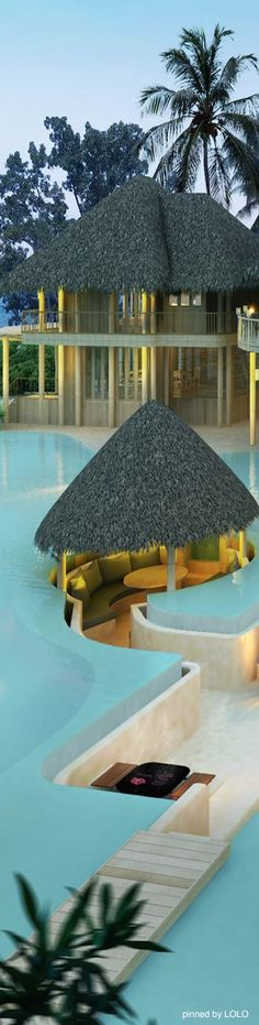 Soneva Fushi Resort...Maldives  #RePin by AT Social Media Marketing - Pinterest Marketing Specialists ATSocialMedia.co.uk