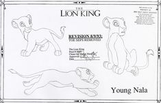 Throwback Thursday: Modeling The Lion King. So, this stuff is going on my wall