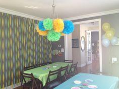 Fairy party decor