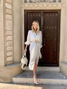 Dubai Travelguide - leonie hanne – haute couture White Outfits, Trendy Outfits, Fashion Outfits, Dubai Street Fashion, Spring Summer Fashion, Spring Outfits, Autumn Outfits, Outfit Summer, Leonie Hanne