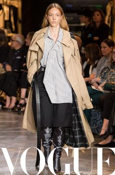 The Vogue Edit. British Vogue's shopping editor Naomi Smart takes shopping seriously. And this month, it's the 'game-changing' spring coat that she has turned her attention to. Whether it's a colourful, sporty windbreaker, a souped-up oversized trench or a statement-making style, find her edit of the best wardrobe transforming coats below