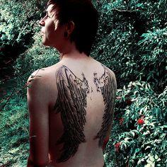 incredible wing tattoo