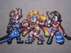 Girls from FFX-2 by Karma-Pudding.deviantart.com on @DeviantArt (This would be so cute as a magnet.)