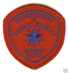 Law Enforcement Texas Department of Public Safety DPS Highway Patrol Patch Badge