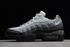 buy popular ce418 04e52 Nike Air Max 95 Essential BlackGrey 749766-022 Mens Shoes For Sale Black