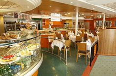 The Trattoria Restaurant onboard the Bahamas Celebration