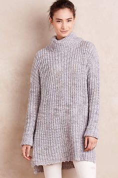 Marled Cowl Pullover - anthropologie.com