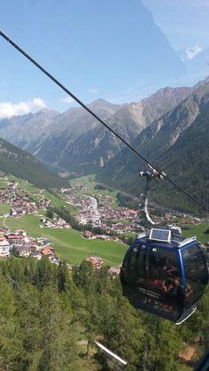 Blick auf Sölden Design Hotel, Hotels, Beautiful Places In The World, Amazing Destinations, Holiday Fun, Switzerland, Travel Inspiration, Skiing, Tourism