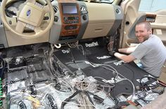 Want to Quiet the road noise in car? We have explained the complete procedure to Car Soundproofing to avoid the outside noises either from tires or traffic. Ford Raptor Accessories, Car Accessories Diy, Acoustic Barrier, Chevy, Gif Disney, Car Sounds, Clipart Black And White, Door Kits, Diy Car