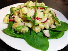 Potato Salad, Zucchini, Potatoes, Zeller, Vegetables, Ethnic Recipes, Food, Fitness, Summer Squash