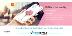 MI MAX with Great Offers..