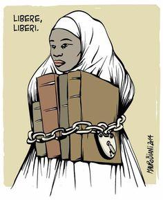Free nigerian girls Bring Back Our Girls, Nigerian Girls, Disney Characters, Fictional Characters, Blog, Disney Princess, Memes, Movie Posters, Art