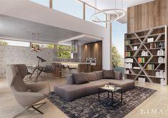 Budai modern családi ház – Lima Design – Lakberendezés
