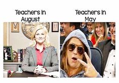 Funny Teacher Memes for Back to School teachers before and after - first day of school vs last day of school pictures of teachers. Funny Teacher Memes, perfect for back to sch Funny School Pictures, Funny School Memes, School Quotes, Funny Pics, Funny Memes, Funny Quotes, Teacher Jokes, Teacher Problems, Teacher Stuff