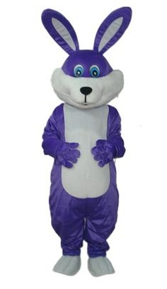 Purple Easter Bunny Costume