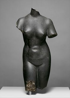 Basalt statue of Aphrodite - Imperial, late 1st–early 2nd century A.D Roman