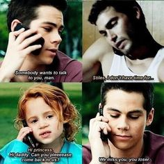 Sterek, Teen Wolf.  This is so sweet!  OMG