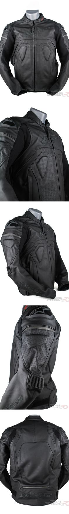 Constructed of 1.1 mm full-grain leather, the Alpinestars Men's Core Airflow Leather Jacket is extremely abrasion resistant. It incorporates accordion poly-textile stretch panels near the elbows and under the arms for extra flexibility and comfort. Zippered air intakes and large perforated panels allow for excellent ventilation. Not to mention it looks super stealthy thanks to the blacked-out logos.